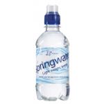 Waterflesje 330 ml. met eigen opdruk (sportdop)