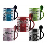Duraglaze 32,5 cl (11oz) Soup & Spoon Two Tone Foto Mok