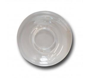 Schotel Suzanne 135 mm blanco  Gehard glas