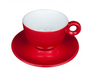 Bola Cappuccino rood-roomwit 20 cl. SET