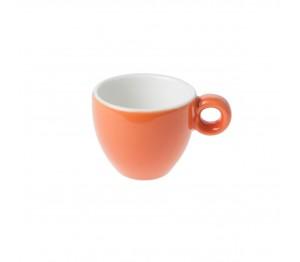 Bola Espresso Kop oranje-roomwit 8 cl.