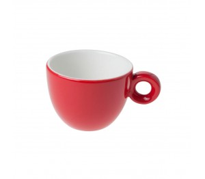 Bola Koffie Kop rood-roomwit 15 cl.