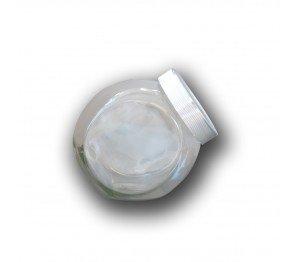 Snoeppot Sweets 0,4 liter zilver deksel