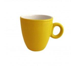 Mok Bente geel-wit 19 cl.