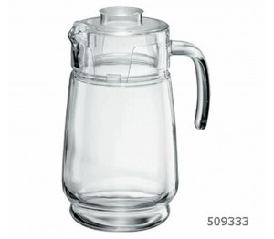 Kan 1,6 liter met deksel piacenza