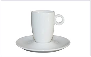 Nespresso en espresso kopje met eigen logo opdruk bedrukking bestellen